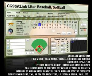 Product Header- Baseball Lite